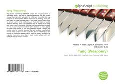Bookcover of Tang (Weaponry)