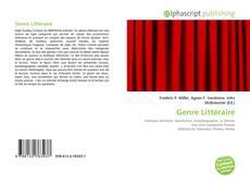 Bookcover of Genre Littéraire