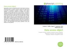 Bookcover of Data access object