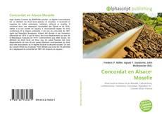 Buchcover von Concordat en Alsace-Moselle