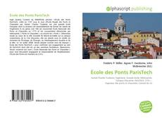 Bookcover of École des Ponts ParisTech