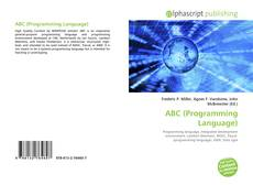 Bookcover of ABC (Programming Language)