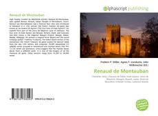 Copertina di Renaud de Montauban