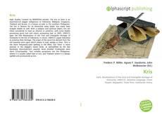 Buchcover von Kris