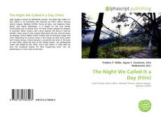Bookcover of The Night We Called It a Day (Film)