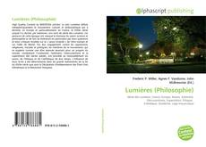 Bookcover of Lumières (Philosophie)