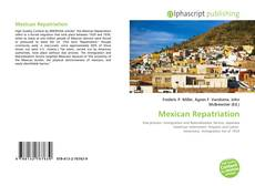Capa do livro de Mexican Repatriation