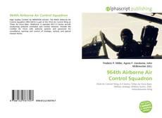 Bookcover of 964th Airborne Air Control Squadron