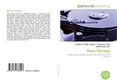 Bookcover of Mass Storage