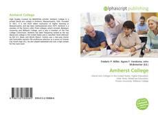 Capa do livro de Amherst College