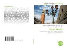 Bookcover of Pietro Bembo