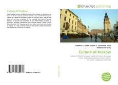 Couverture de Culture of Kraków