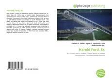 Bookcover of Harold Ford, Sr.