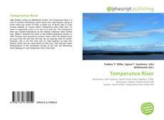 Bookcover of Temperance River