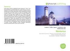 Nestorius的封面