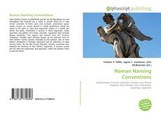 Bookcover of Roman Naming Conventions