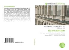 Bookcover of Ioannis Metaxas
