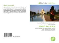 Bookcover of Malhar Rao Holkar