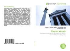 Bookcover of Hayam Wuruk