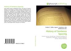 Copertina di History of Sentence Spacing