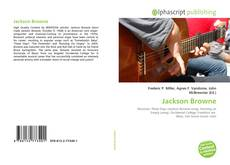 Bookcover of Jackson Browne
