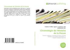Couverture de Chronologie de l'Histoire de la Presse