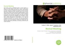 Обложка Revival Meeting