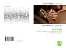 Bookcover of Etta Baker