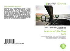 Bookcover of Interstate 78 in New York
