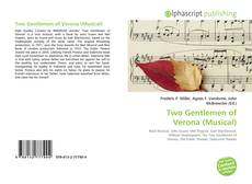 Capa do livro de Two Gentlemen of Verona (Musical)