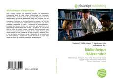 Portada del libro de Bibliothèque d'Alexandrie