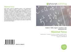 Bookcover of Maximal Torus