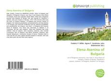 Обложка Elena Asenina of Bulgaria
