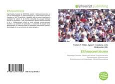 Bookcover of Ethnocentrisme