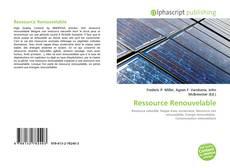 Couverture de Ressource Renouvelable