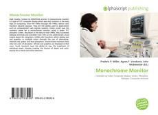 Bookcover of Monochrome Monitor