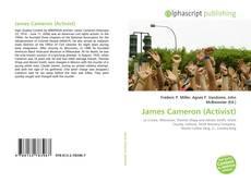 Capa do livro de James Cameron (Activist)