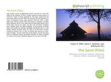 Capa do livro de The Saint (Film)