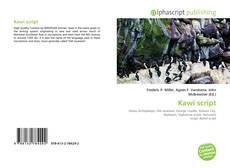 Bookcover of Kawi script