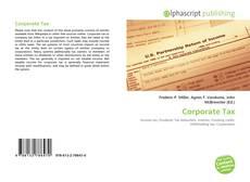 Capa do livro de Corporate Tax