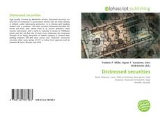 Bookcover of Distressed securities