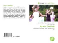 Buchcover von Betsy's Wedding