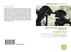 Bookcover of Shadow Play