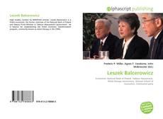 Capa do livro de Leszek Balcerowicz