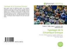 Couverture de Typologie de la Céramique Grecque