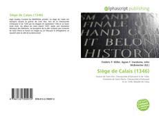 Bookcover of Siège de Calais (1346)