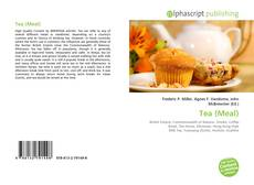 Bookcover of Tea (Meal)