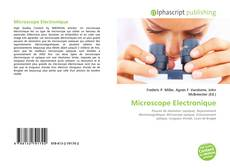 Bookcover of Microscope Electronique