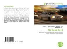 Buchcover von No Good Deed