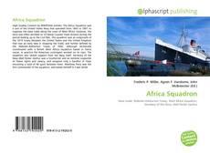 Africa Squadron kitap kapağı